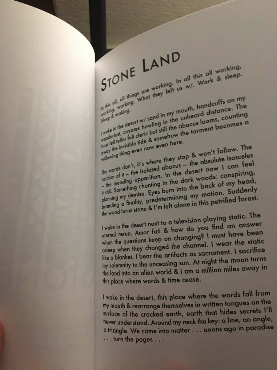 stone land book intro